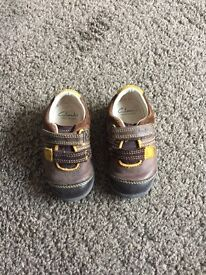 Clarks Baby Shoes - size 3.5 F