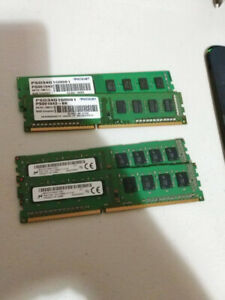 16GB DDR3 1600 MHz RAM 4x4GB Matched Kit