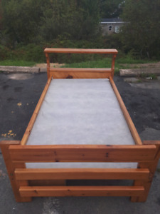 Pine Single Bed Frame with Drawers **Delivery Included**