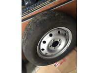 Renault master spare wheel from 2005 van