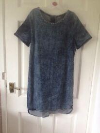 Woman's size 12 newlook denim dress