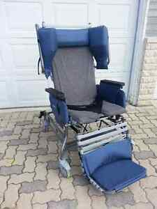 22 in. 785/Recline Broda Wheelchair -like new