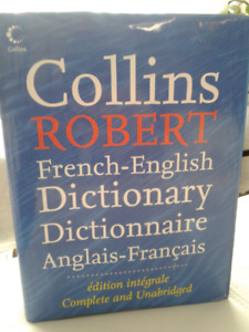 Collins Robert French-English, English-French Dictionary