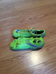 Teenager Nike soccer shoes