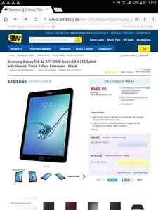 Samsung Galaxy Tab S2. With Wireless Bluetooth keyboard and case