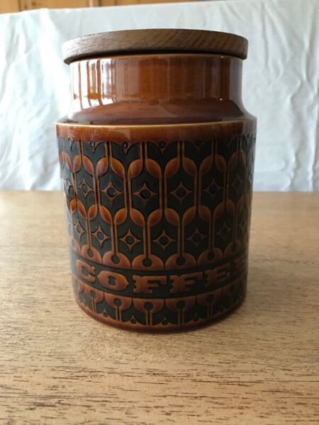 Hornsea Heirloom Brown Pottery Containers