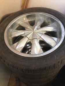 "20"" Rims and Tires $1000"