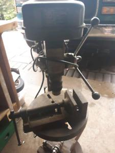Drill Press - 5 Speed industrial Drii press on Stand