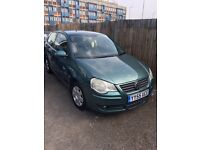 Volkswagen polo 1.4s+petrol+drives very well+cheap tax&insurance+bargain price
