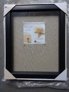 Brand new Lawrence Frames 11 by 14-Inch Black Shadow Box Frame