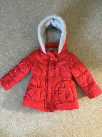Baby girl coat 18-24 months