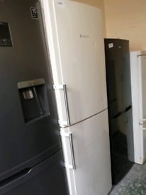 Hotpoint fridge freezer 4 drawers 3 months warranty at Recyk