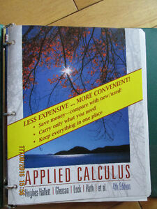 Applied Calculus 4th edition