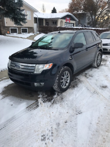 2008 Ford Edge blue SUV, Crossover