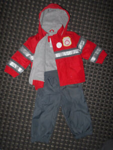LINED & WATERPROOF OUTFIT SIZE 12 MONTHS