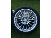 "18"" multi spoke alloys"