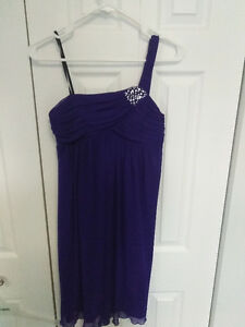 Ricki's purple Graduation dress