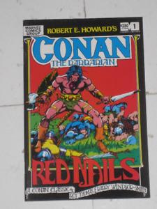 Marvel Comics Conan Red Nails#1 Smith art! comic book