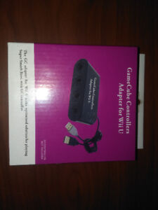 Game cube controller adapter for wii u