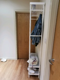 Ikea shoe and clothes rack