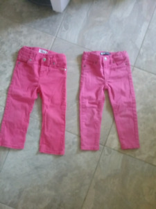 2 Pairs of Levi's Jeans Size 2T