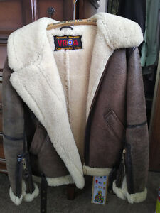 Sheepskin Bomber/Flying Jacket - RARE - Size 46