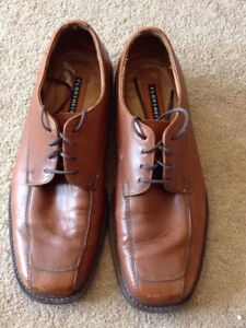 Tan Florsheim Shoes (WILL TRADE FOR FOOD)
