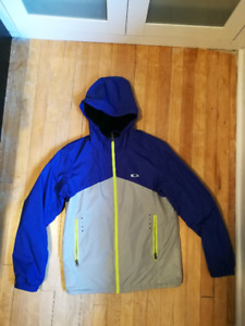 Barely Worn Oakley Jacket / Size M, men's / Blue and Grey for sale  Ottawa