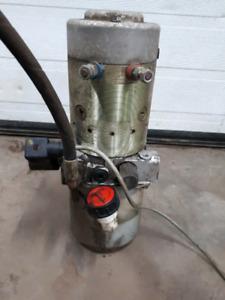 Power unit 12 volts ,pompe