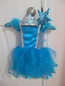 Princess/fairy Dress & Wand - Toddler
