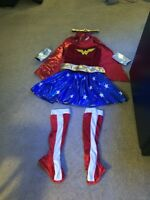 Wonder Woman Costume Ladies small