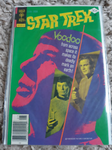 Star Trek #7 GOLD KEY VINTAGE! Really nice