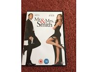 Mr and Mrs smith dvd
