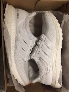 Triple white Ultraboost