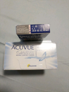 Acuvue oasys bi-weekly contacts +5.00