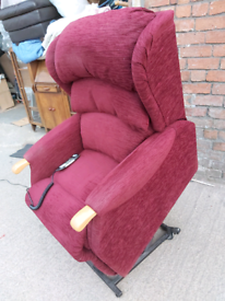 Recliner Chair - Quality HSL Extra Comfy Daul Motor Winish Chenille Fa