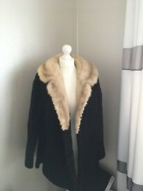 Vintage astrakhan Fur Coat from B Armstrong Furriers