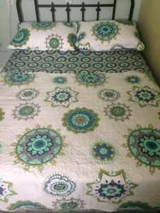Double size coverlet