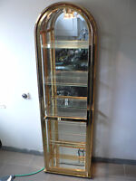 VERY GOOD CONDITION BRASS DISPLAY FURNITURE