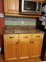 Kitchen countertops, island top & sink, Sold together.
