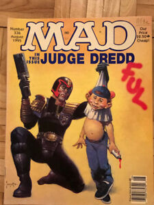 LOT OF 4 MAD MAGAZINES FROM 1995