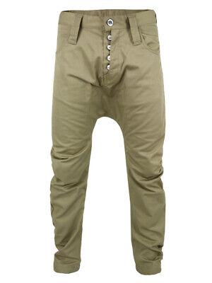 BNWT Mens Humör Denmark W30 Santiago Sand Brown Chinos Trousers Pants Casual
