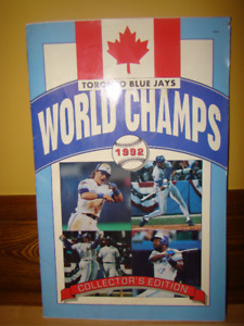 Toronto Blue Jays World Champs 1992 player profile book