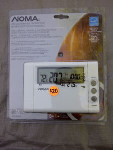 NOMA Programmable Thermostat