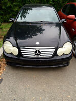 Mercedez-Benz C230K PART OUT