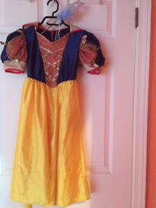 Robes princesse pour Halloween ou vacances Disney
