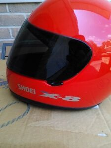 USED SHOIE HELMET SIZE S WITH TINTED SHIELD Windsor Region Ontario image 4