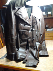MENS WINTER RETRO LEATHER JACKET