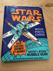 1978 Topps Star War Cards Package