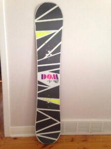 Snowboard BURTON utilisée deux fois!